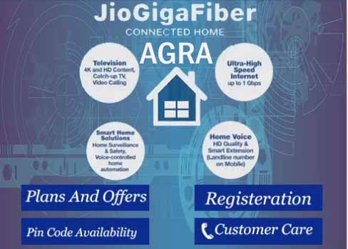 Jio FIber in Agra