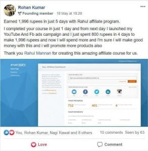Rahul Mannan Affiliate Course